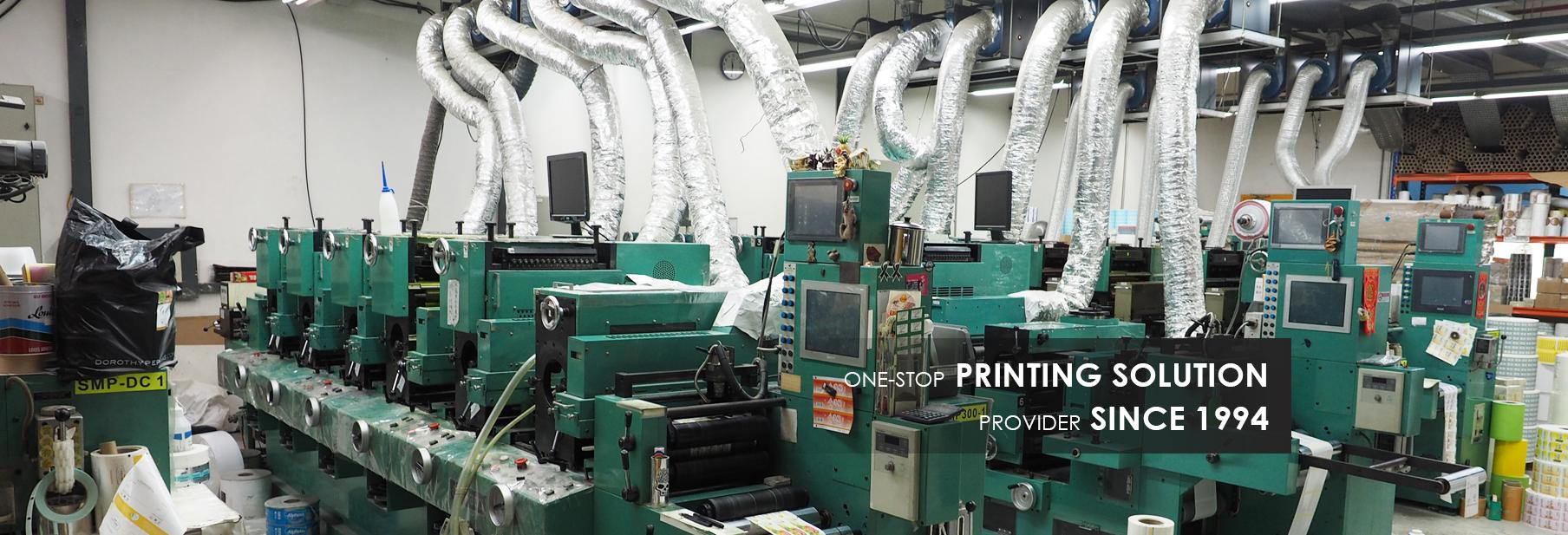 Singapore No 1 Label Printing   Silkscreen Printing   Offset